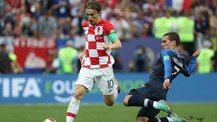 Der kroatische Nationalspieler Luka Modrić (Foto: Igor Kralj_PIXS ELL)