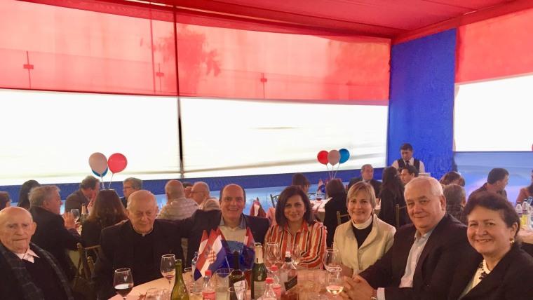 Cónsul de Croacia en Perú Ana María Kuljevan (Foto: consulado croata)