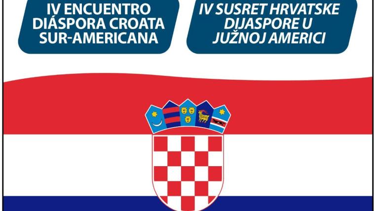 Logotipo del Encuentro de la Diáspora Croata Sudamericana
