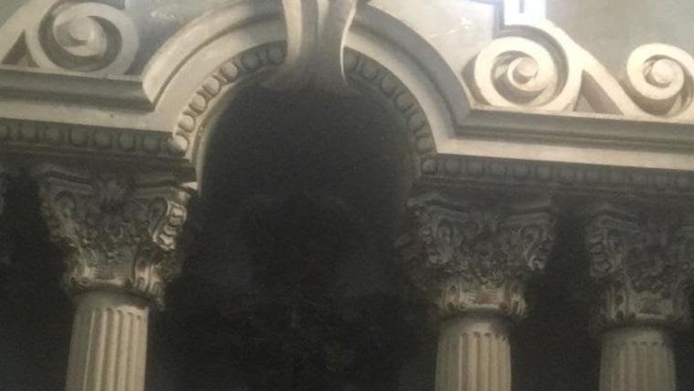 Mausoleo en el Cementerio Croata de Oruro (Foto: Sociedad Croata de Oruro)