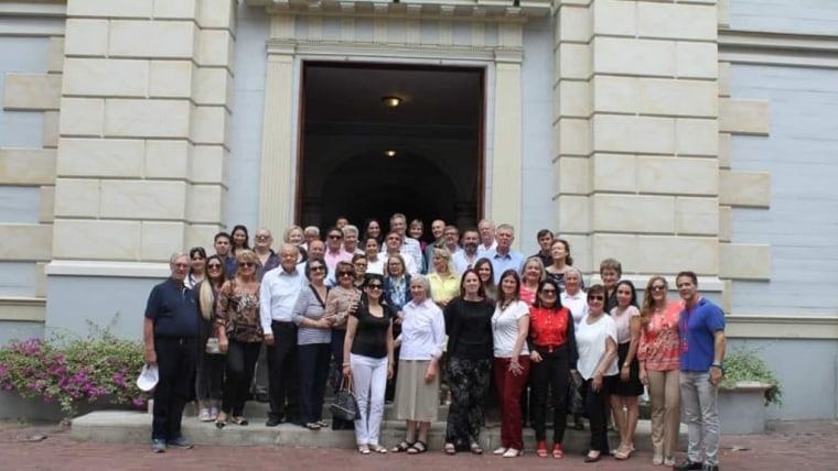 Participantes del IV Encuentro (Foto: Asociación Croata Ecuatoriana)