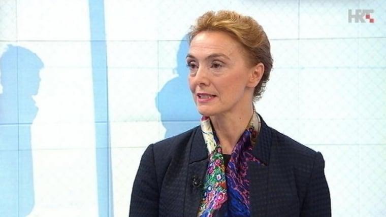 Marija Pejčinović Burić (Foto: HRT)