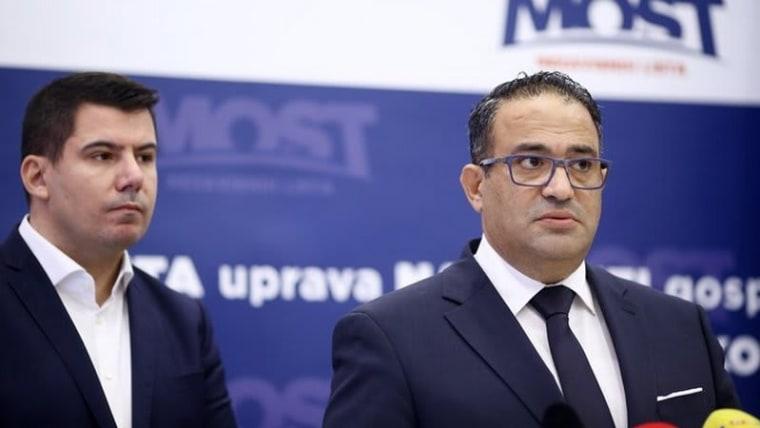 Most's Nikola Grmoja (l) and Nizar Shoukry (r) (Photo: Igor Soban/PIXSELL)