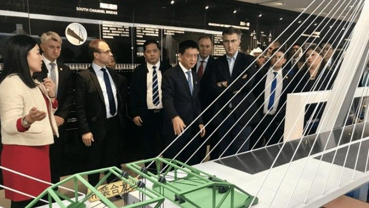 Andrej Plenkovic en  China (Foto: Vlada)