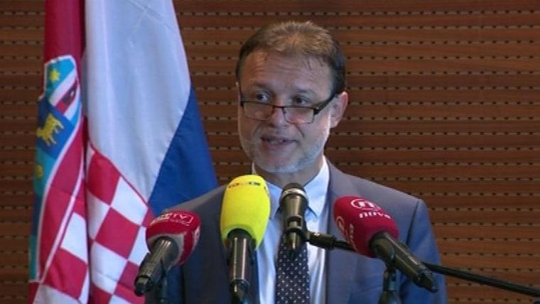 Parlamentsvorsitzender Gordan Jandroković bei der Konferenz in Dubrovnik (Foto: HRT)