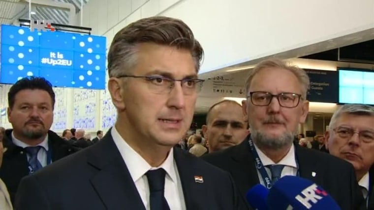 Prime Minister Andrej Plenković (Photo: HRT)