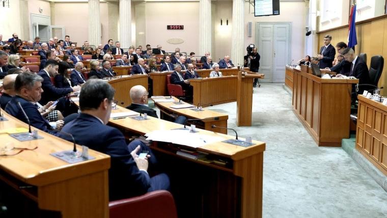 Parlamento croata (Foto: Patrik Macek/PIXSELL)