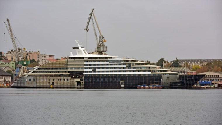 Uljanik shipyard in Pula (Photo: Dusko Marusic/PIXSELL)