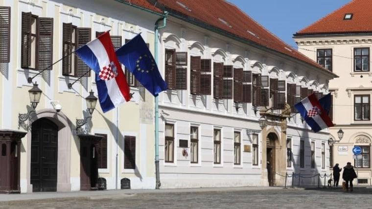 Das kroatische Parlament (Foto: PatrikMacek/PIXSELL)