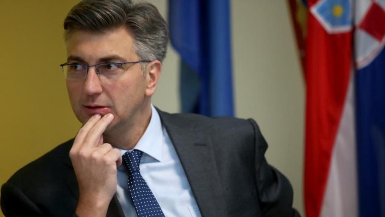 Premierminister Andrej Plenković (Foto: NelPavletic/PIXSELL)