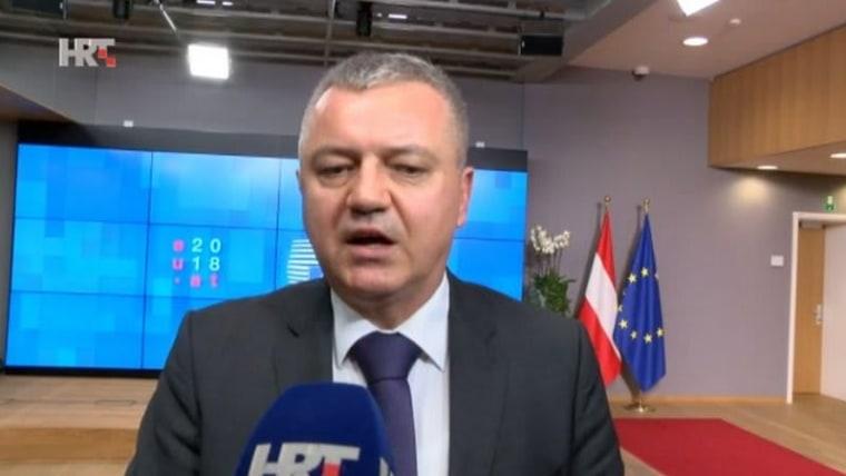 Economy Minister Darko Horvat (Photo: HRT)