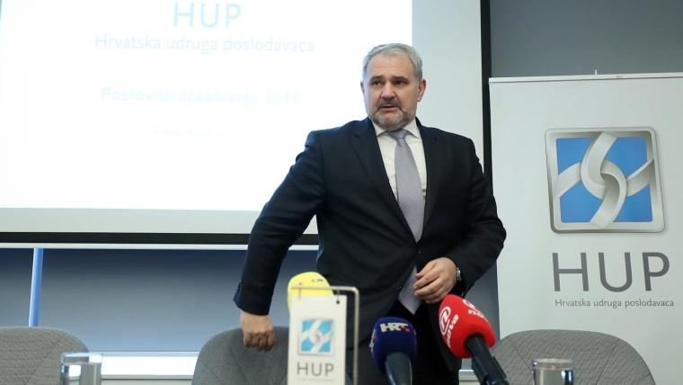 Davor Majetić de la Asociación de Empleadores de Croacia (Foto: Goran Stanzl/PIXSELL)