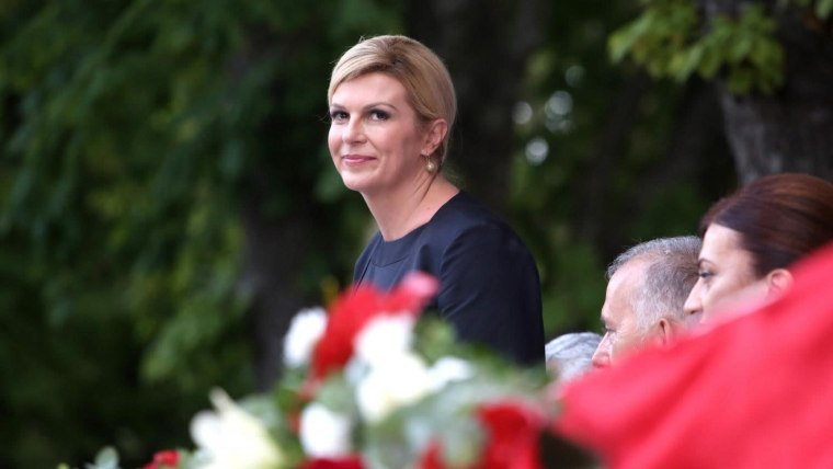 Presidente Kolinda Grabar Kitarović (Foto: Miranda Cikotic/PIXSELL)