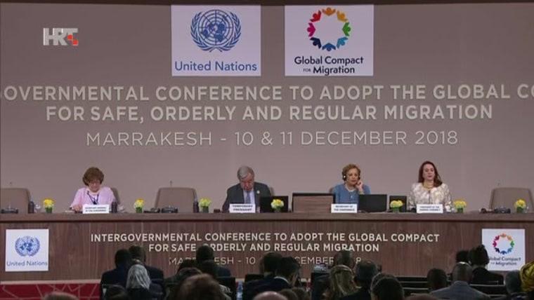 Cumbre de la ONU en Marrakech (Foto: HRT)