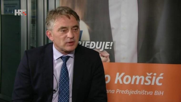 Mitglied der Präsidentschaft von Bosnien und Herzegowina Željko Komšić (Foto: HRT)