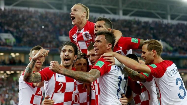 Die kroatische Fußballnationalmannschaft bei dem WM in Russland (Foto: Igor Kralj/PIXSELL)