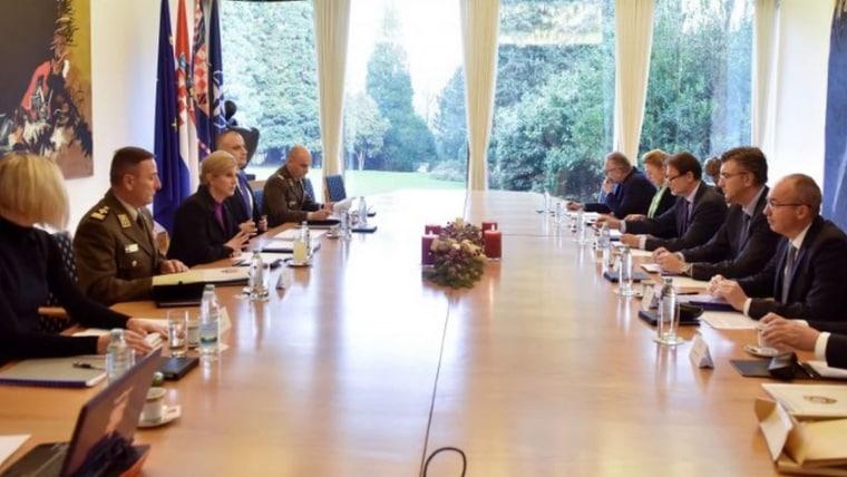 Consejo de Seguridad Nacional (Foto: HRT)