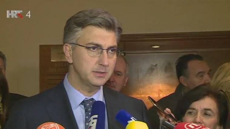 Andrej Plenković (Foto: HRT)