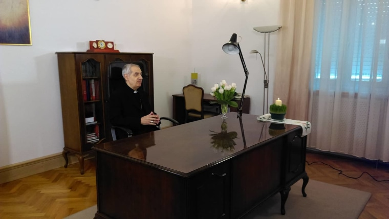 Apostolski nuncij Giuseppe Pinto (Foto: Jasminka Perić/Glas Hrvatske)