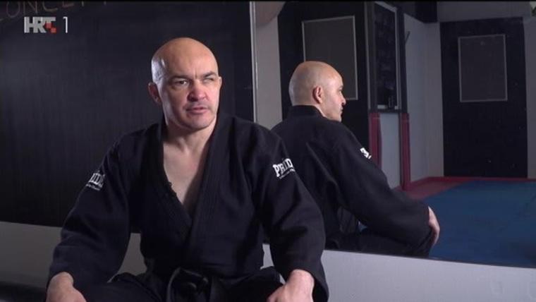 Mirsad Bećirević- hrvatski samuraj. (Foto: hrt.hr)