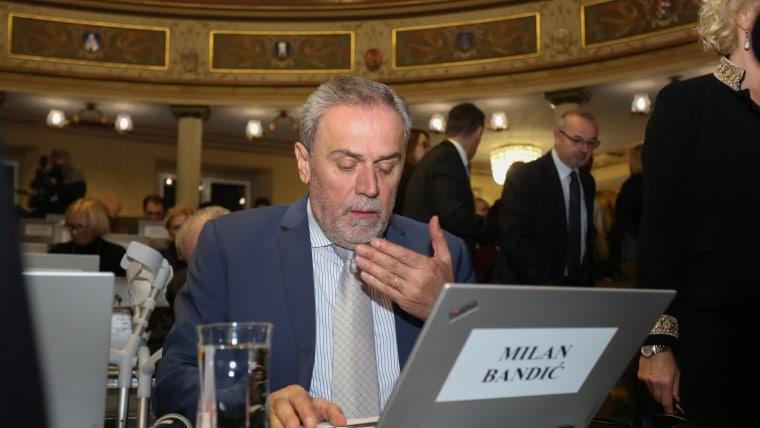 Alcalde de Zagreb, Milan Bandić (Foto: Matija Habljak/PIXSELL)