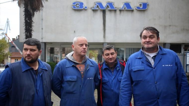 Trabajadores de Treći maj (Foto: Nel Pavletic/PIXSELL9