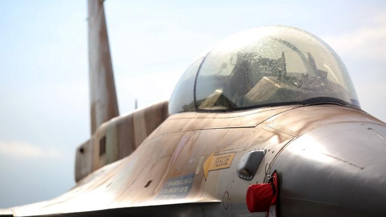 F-16 Barak (Photo: Luka Stanzl/PIXSELL)