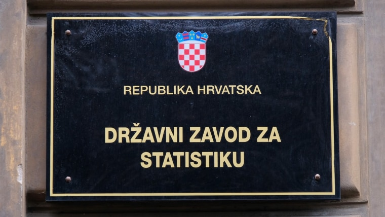 Croatia's State Statistics Bureau (Photo: Tomislav Miletic/PIXSELL)