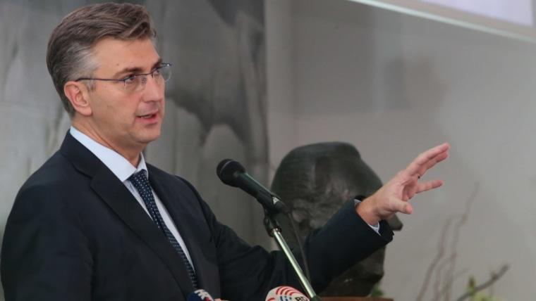 Prime Minister Andrej Plenković in Split (Photo: Ivo Cagalj/PIXSELL)
