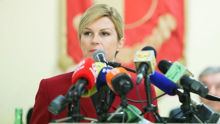 President Kolinda Grabar Kitarović (Photo: Filip Kos/PIXSELL)
