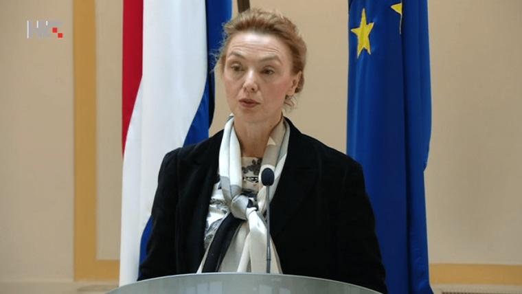 Ministerin für auswärtige und europäische Angelegenheiten Marija Pejčinović Burić (Foto: HRT)