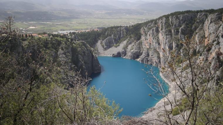 Modro jezero, jedan od turističkih aduta (Foto: Ivo Cagalj/PIXSELL)