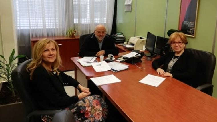 Jasna Damjanović, Ivo Kujundžić i Tanja Rau (Foto: Maja Mioč/Glas Hrvatske)