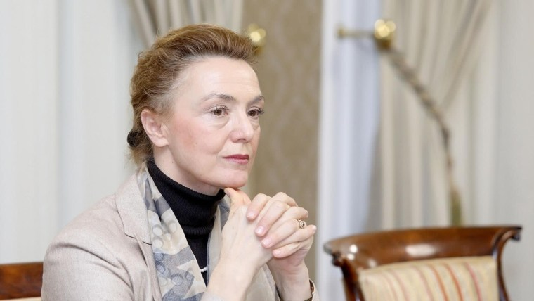 Die kroatische Außenministerin Marija Pejčinović Burić (Foto: Patrik Macek_PIXSELL)