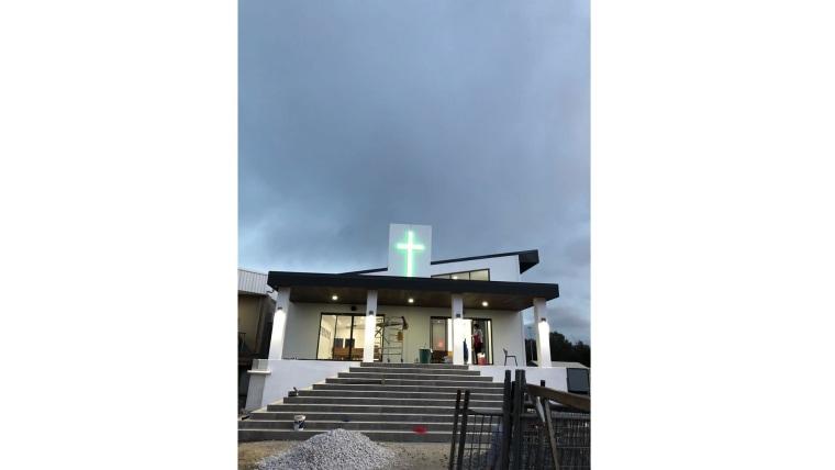Novoizgrađena crkva sv. Leopolda Mandića na Gold Coastu. (Foto: Franjo Harmat)