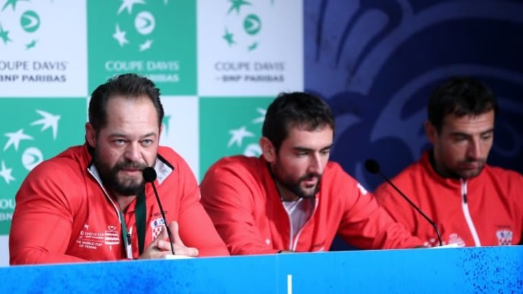 Davis Cup Kroatien In Der Gruppe Mit Spanien Und Russland