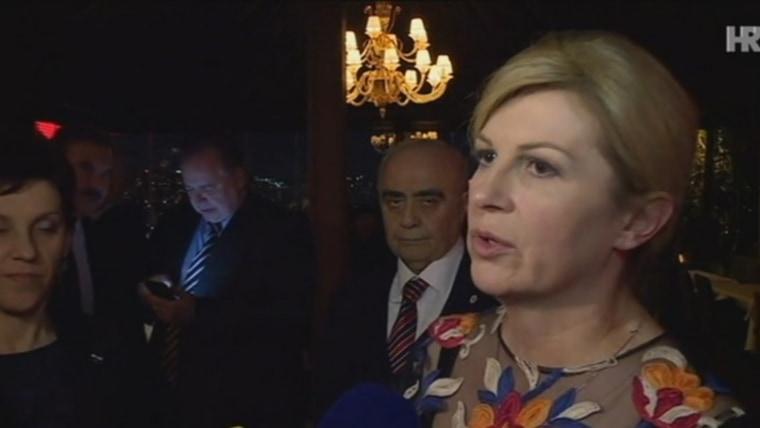 Presidenta Kolinda Grabar-Kitarović (Foto: HRT)
