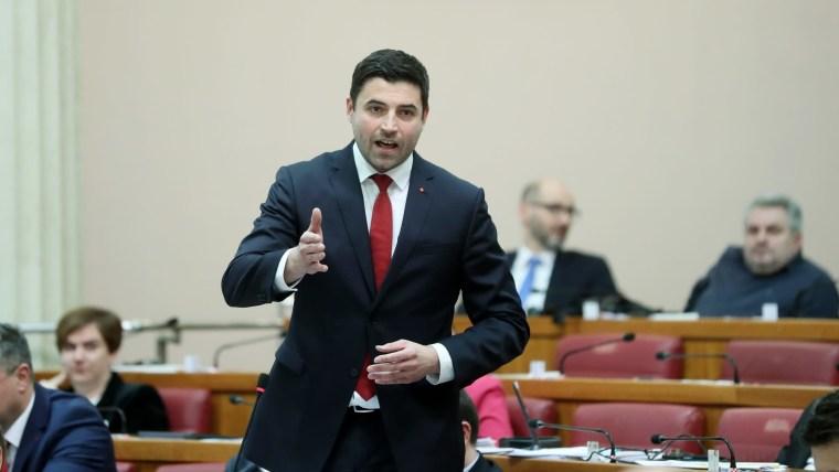 Líder der SDP, Davor Bernardić (Foto: Sanjin Strukic/PIXSELL))