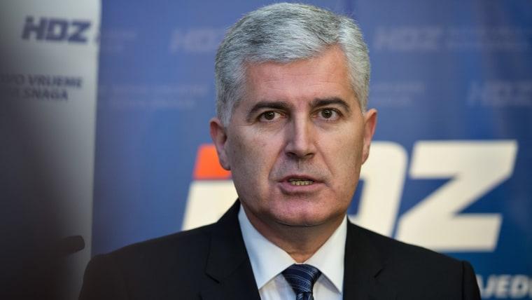 Predsjednik HDZ BiH Dragan Čović (Foto: Davor Puklavec/PIXSELL)