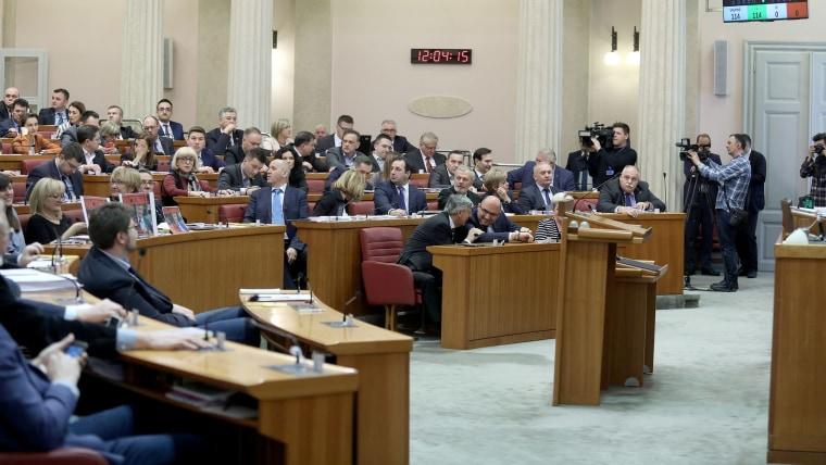 Croatian Parliament (Photo: Patrik Macek/PIXSELL)