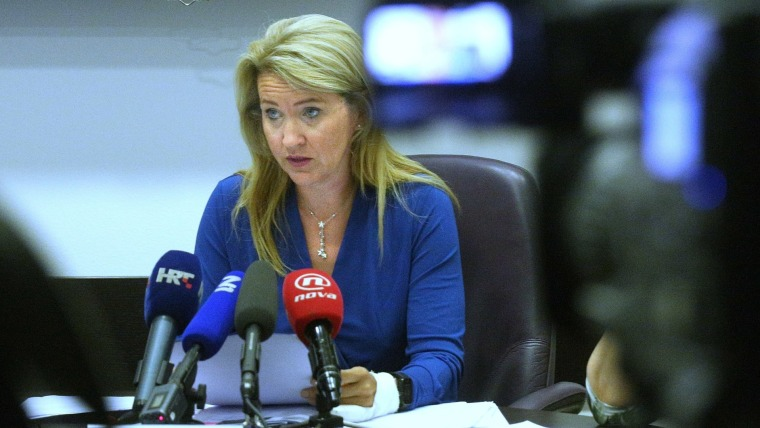 Nataša Novaković, presidente de la Comisión de conflicto de intereses (Foto: Zarko Basic/PIXSELL)