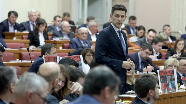 Božo Petrov, presidente de MOST (Foto: Patrik Macek/PIXSELL)