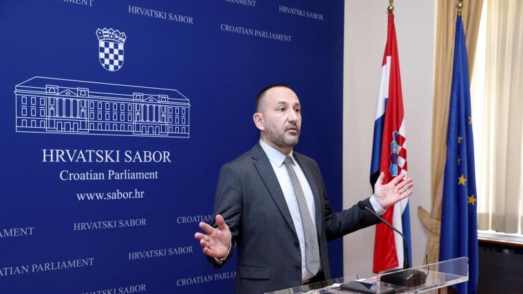 Hrvoje Zekanović (Photo: Patrik Macek/PIXSELL)