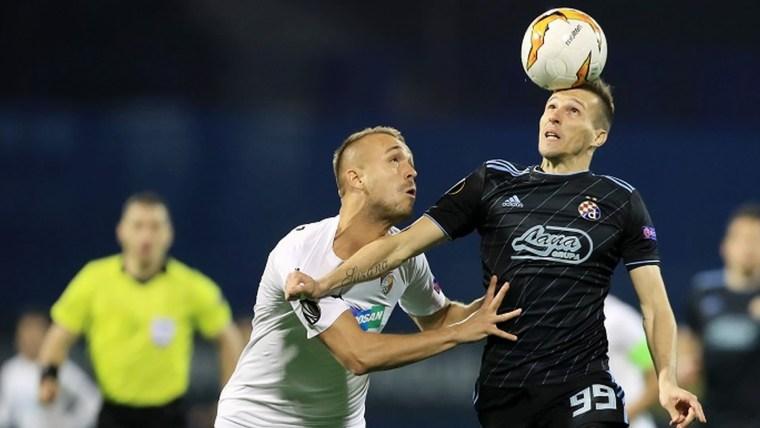 Dinamo en octavos de final de la Europa League (Foto: HRT)
