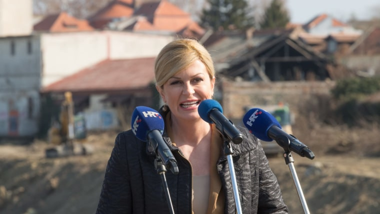 Presidente Kolinda Grabar Kitarović (Foto: Dubravka Petric/PIXSELL)