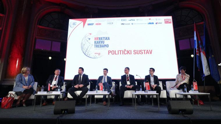 """Conferencia """"La Croacia que necesitamos"""" (Foto: Igor Kralj/PIXSELL)"""