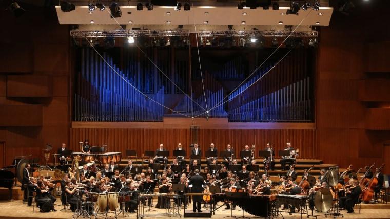 Zagreb Philharmonic Orchestra (Photo: Matija Habljak/PIXSELL)