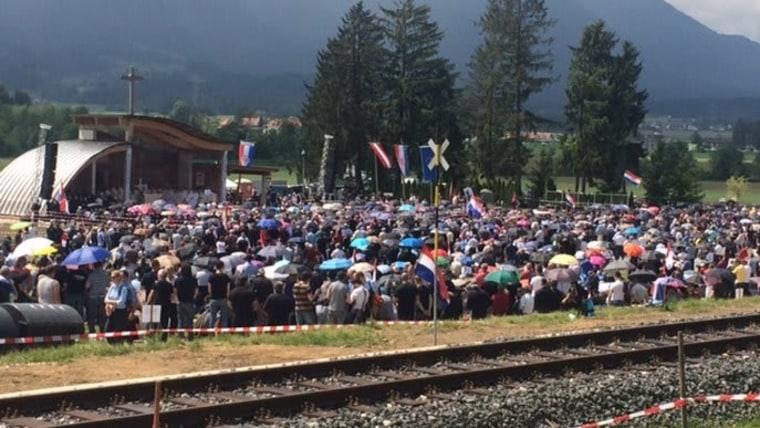 Mass at Bleiburg (Archive photo: Marin Erak/HRT)