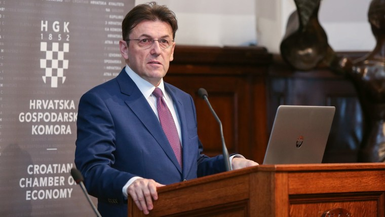 CCE President Luka Burilović (Photo: Luka Stanzl/PIXSELL)