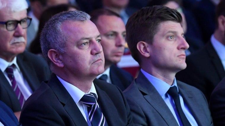 Economy Minister Darko Horvat (L) Finance Minister Zdravko Marić (R) (Photo: Marko Lukunic/PIXSELL)
